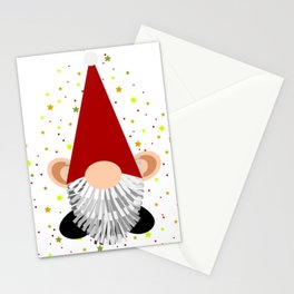 Santa - Gnome Stationery Cards