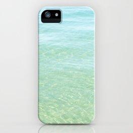 Glisten Shimmering Waves iPhone Case