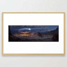 Xtra - terrestrial Framed Art Print