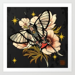 Andean Bee Butterfly Art Print