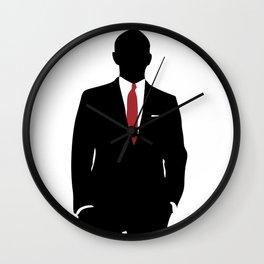 Skyfall, James Bond,minimalist design , alternative poster, Daniel Craig, Javier Bardem, Sam Mende Wall Clock