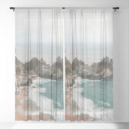 Big Sur Sheer Curtain