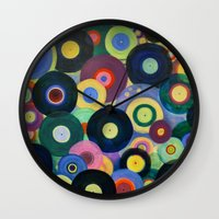 record Wall Clocks featuring Record High by Femi Ford