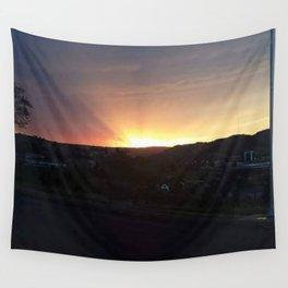 Requiem Sunset Wall Tapestry