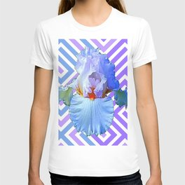 MODERN ART DECO PATTERN IRIS PATTERN ART T-shirt