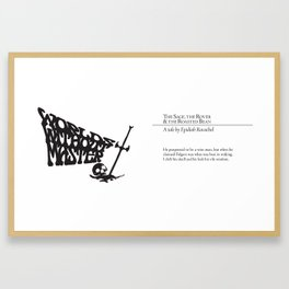 The Sage, the Rover & the Roasted Bean Framed Art Print