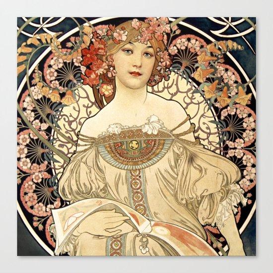 Art Nouveau Canvas Print