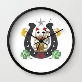 Ultimate Lucky Shirt Wall Clock