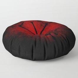 Black Marked Berserk Floor Pillow