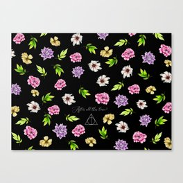 Floral After all this time? Canvas Print