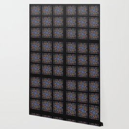 Stained Glass Window Tiles Wallpaper