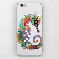 horse iPhone & iPod Skins featuring horse  by mark ashkenazi