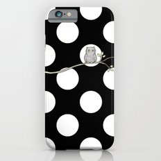 Out on a Limb - Polka Dot Owl Moon iPhone 6 Slim Case