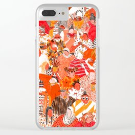 Girls Clear iPhone Case