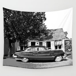 A lazy summer afternoon at the motel Wall Tapestry
