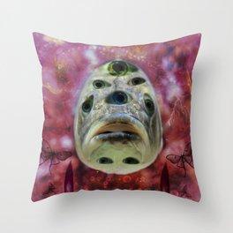 Tripfish One Throw Pillow