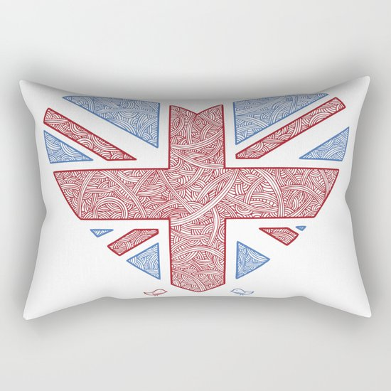 Union Jack  Rectangular Pillow