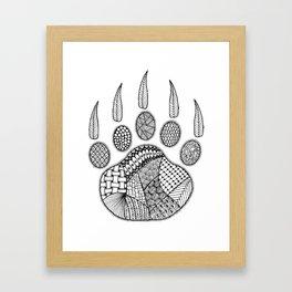 Tangled Bear Paw 2 Framed Art Print