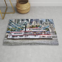 The Dixie Queen Paddle Steamer Rug