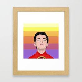 Little Genius Framed Art Print