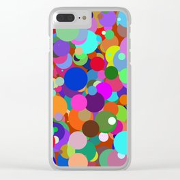 Circles #8 - 03132017 Clear iPhone Case