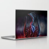 phoenix Laptop & iPad Skins featuring Phoenix by Giorgio Finamore