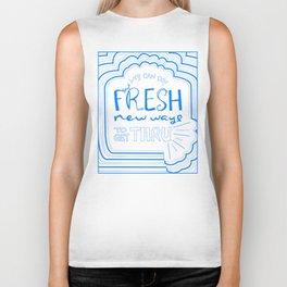 Fresh New Ways – Blueberry Biker Tank