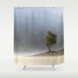Beautiful dripping fragments Shower Curtain