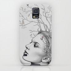 Lady November - digital painting Galaxy S5 Slim Case