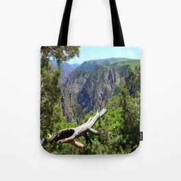 Black Canyon Of Gunnison View Tote Bag