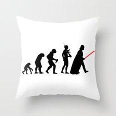 Dark Side Evolution Darth Vader Throw Pillow