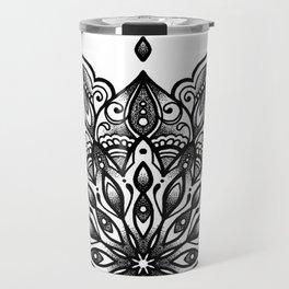 monika's mandala towel Travel Mug