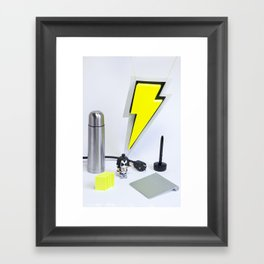 We love design - Hard Framed Art Print