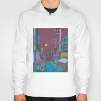 seoul Hoodies featuring Seoul City #2 by Rob McClelland