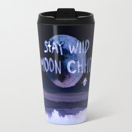 Stay wild moon child (purple) Travel Mug