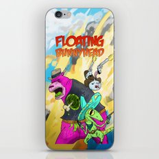 Floating BunnyHead Western Action  iPhone & iPod Skin
