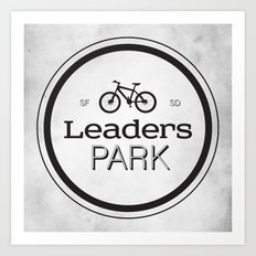 Leaders Park Art Print