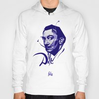 salvador dali Hoodies featuring Salvador Dali by Henri Fdz