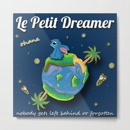 Le Petite Dreamer Metal Print