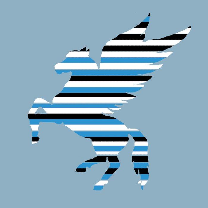 Pegasus Stripes 2 Duvet Cover