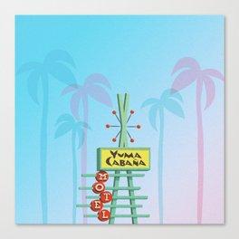 Yuma Cabana Canvas Print