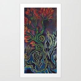 water life (radioactive) Art Print