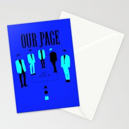 SHINee - Our Page Stationery Cards