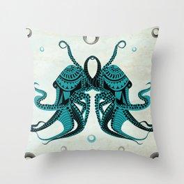 Tako Love Throw Pillow