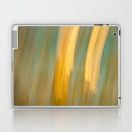 Ancient Gold and Turquoise Texture Laptop & iPad Skin