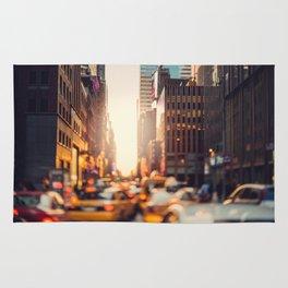 NYC Rush Hour Rug