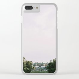 Gatsby Mansion Lawn Party Clear iPhone Case