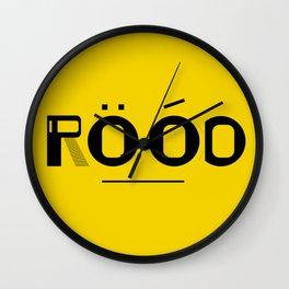 ROOD Wall Clock