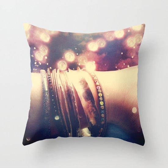 Bangles Throw Pillow