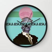 kingdom hearts Wall Clocks featuring Kingdom by LOSKA